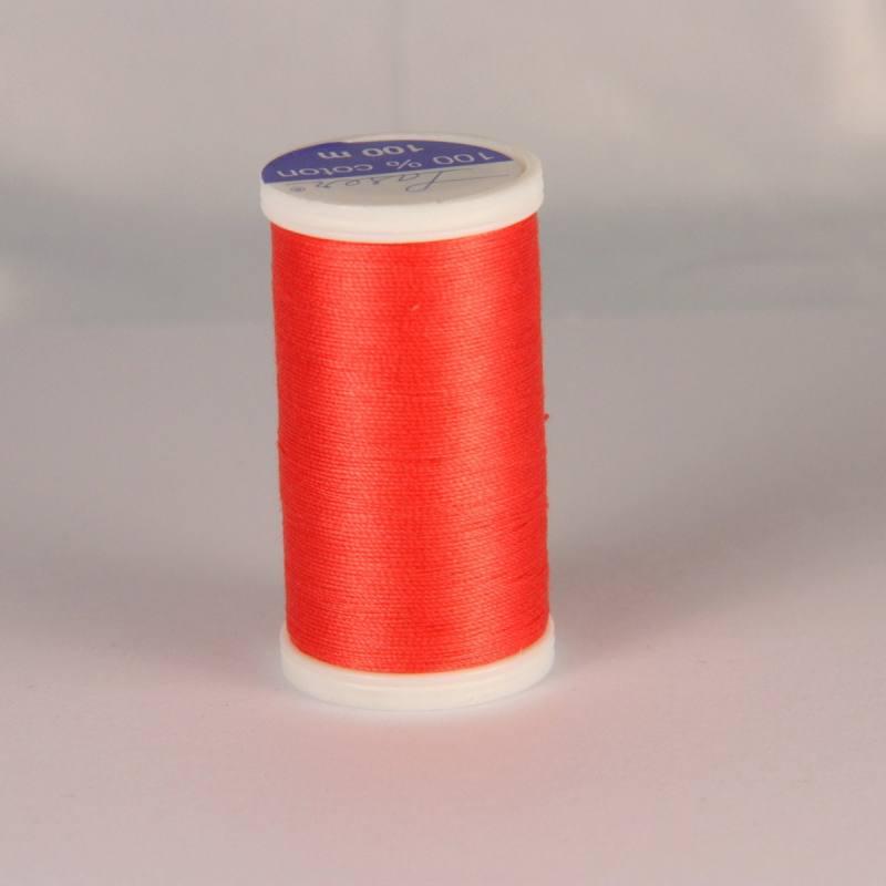 Fil coton laser corail 3532