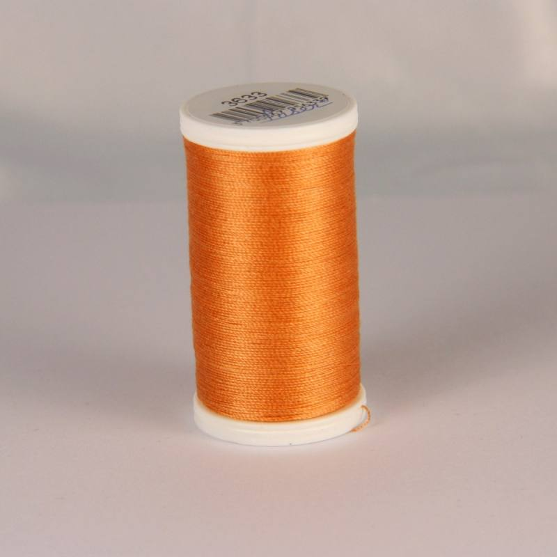 Fil coton laser orange cuivre 3633