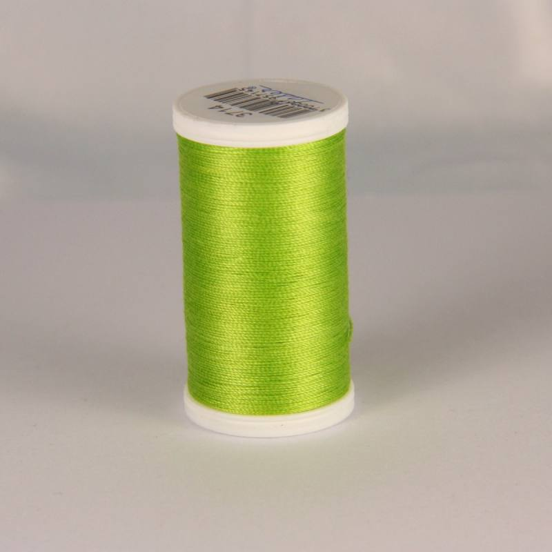 Fil coton laser vert pomme 3714