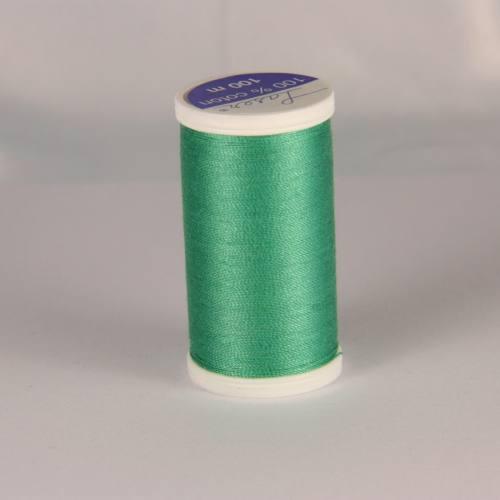 Fil coton laser bleu vert 3719
