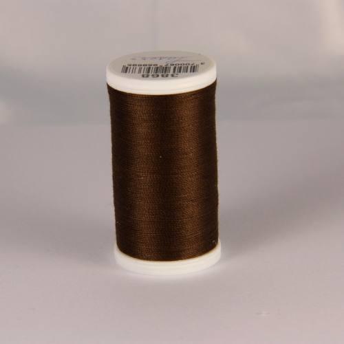 Fil coton laser marron 3868