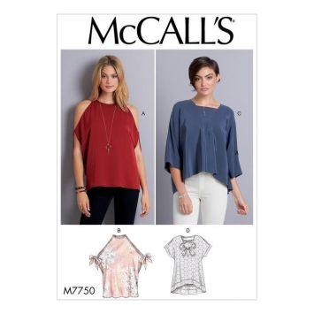 Patron McCall's M7750 : Hauts 44-52