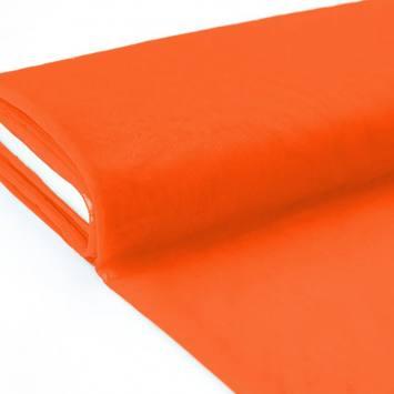 Plaquette 25m Tulle déco orange grande largeur