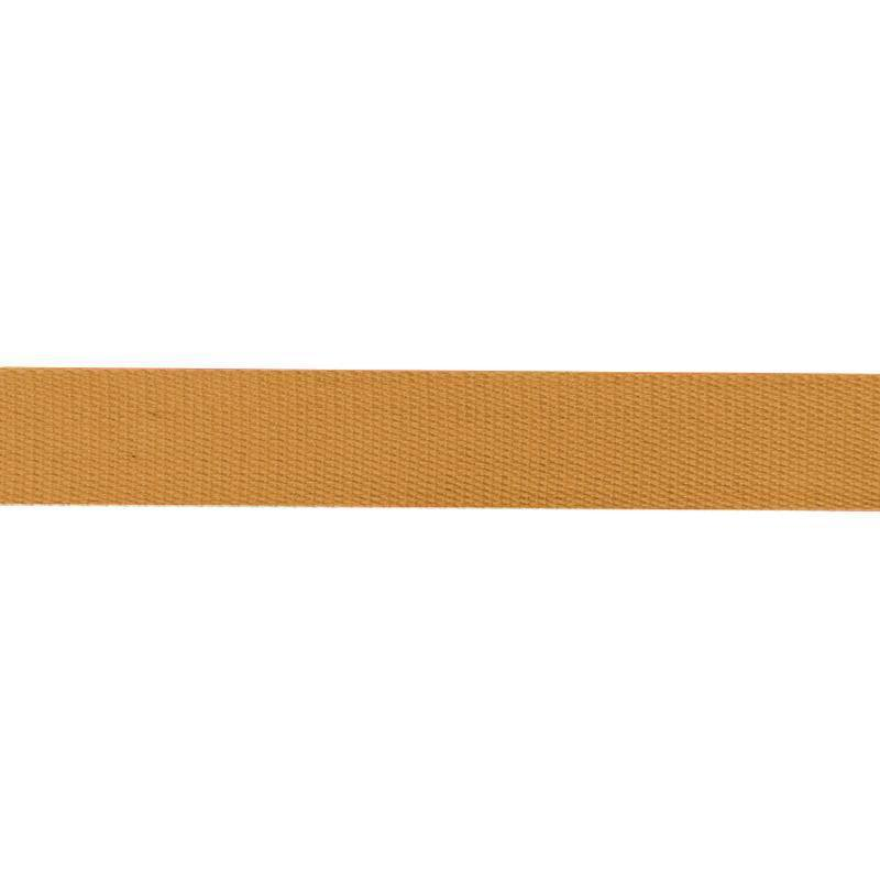 Sangle coton 30mm ocre