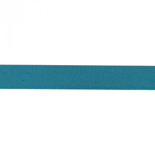 Sangle coton 30mm bleu canard