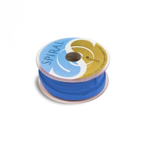 Bobine 25M passepoil 15 mm bleu azur
