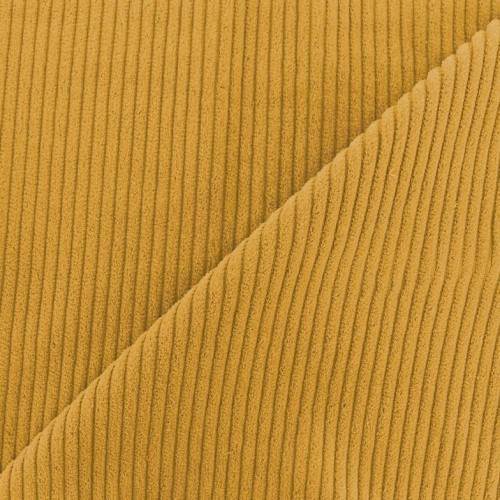 Velours côtelé jaune