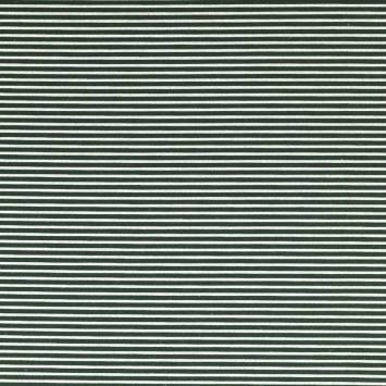 Feutrine verte à fines rayures blanches