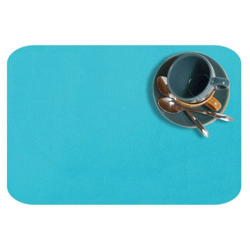 Simili cuir dolaro bleu turquoise