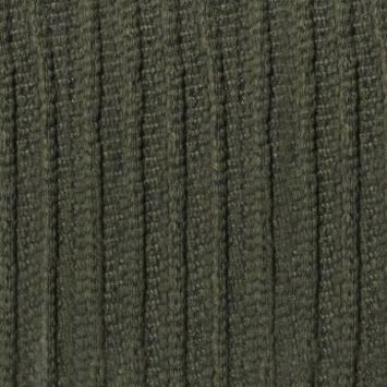 Tissu lainage kaki bandes reflief