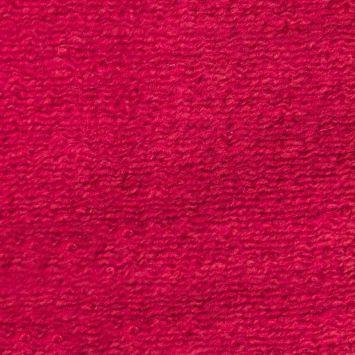 Tissu lainage léger uni framboise