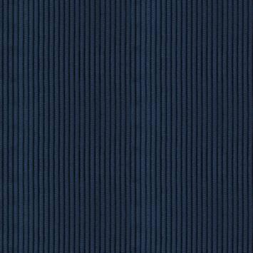 Velours côtelé moyennes côtes bleus