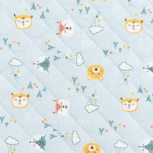 Coupons de tissus conomiques pour toutes vos petites cr ations - Tissu matelasse pour bebe ...
