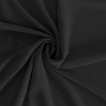 Mousseline crêpe pearl noire