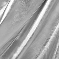 Lycra métallisé argenté