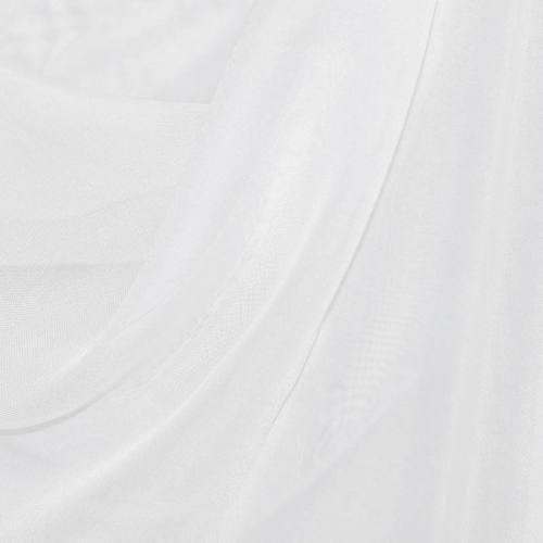 Rouleau 35m voilage blanc non feu m1 plombé grande largeur