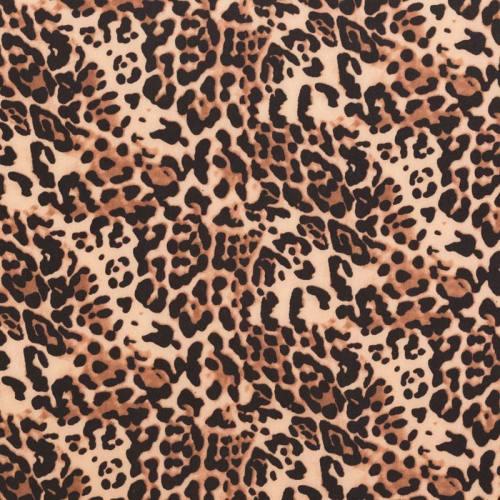 Lycra extensible motif léopard