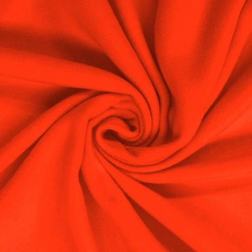 Polaire unie orange