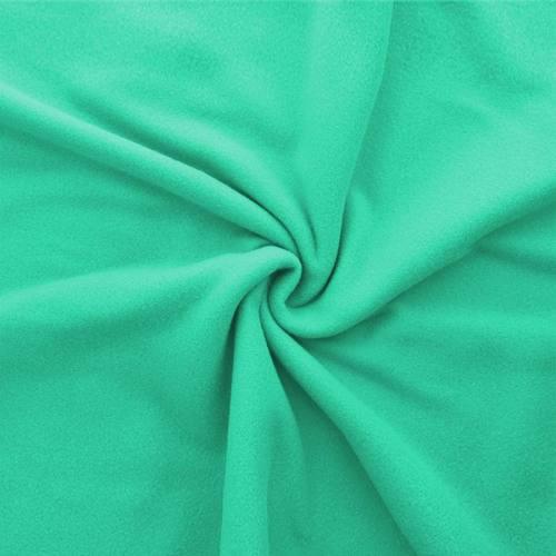 Polaire mate unie vert jade