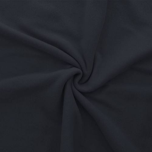 Polaire mate unie bleu marine