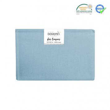 Coupon 40x60 cm coton uni denim