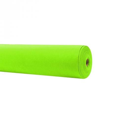 Rouleau 15m feutrine vert fluo 91cm