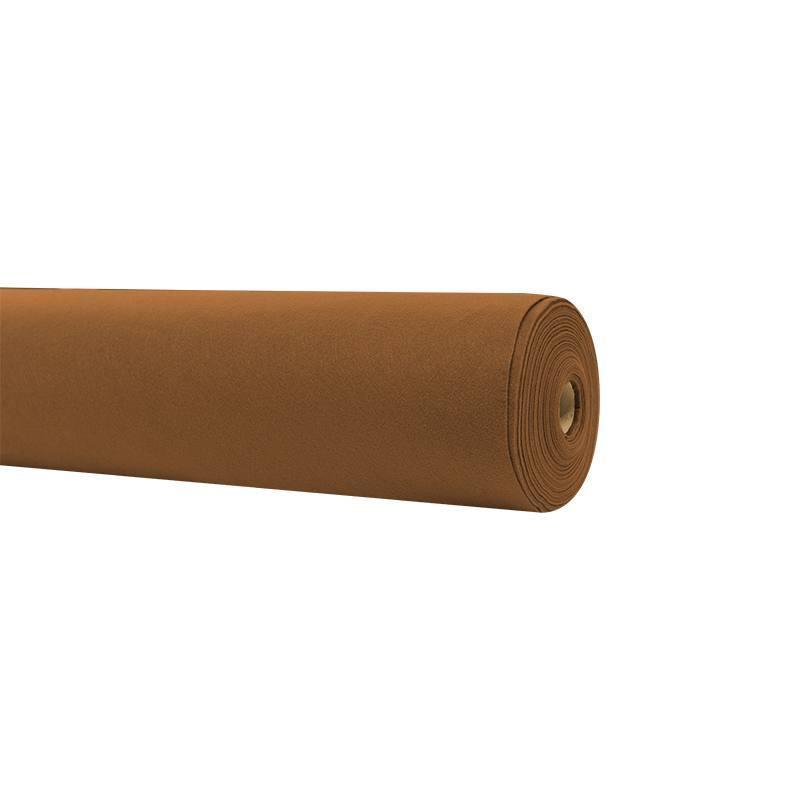 Rouleau 15m feutrine marron clair 91cm