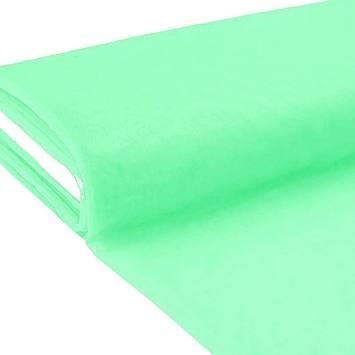 Plaquette 25m Tulle déco vert d'eau grande largeur