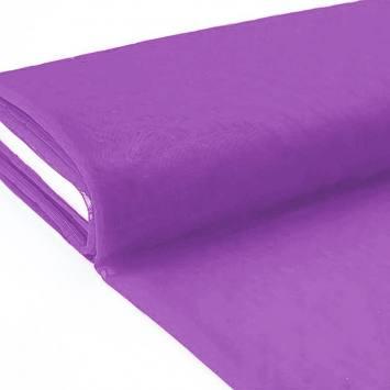 Plaquette 25m Tulle déco violet grande largeur