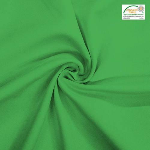 Rouleau 23m burlington infroissable Oeko-tex vert prairie