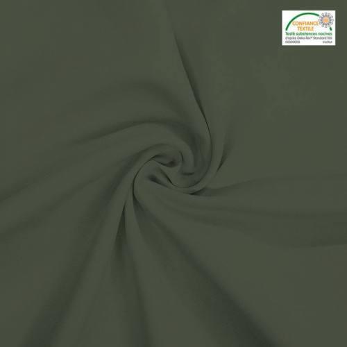 Rouleau 29m burlington infroissable Oeko-tex vert kaki