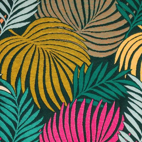 Jacquard imprimé tropical