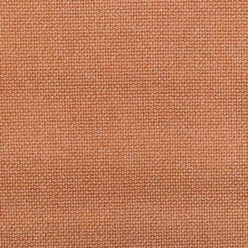 Jacquard orange rouille tissé vénitien
