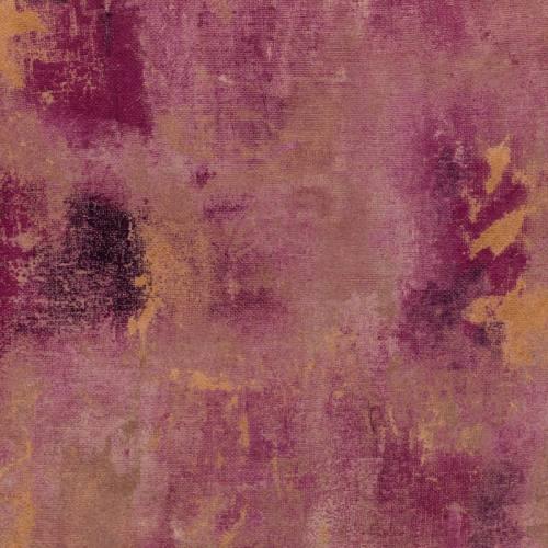Velours ras nuances d'or et de violet