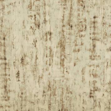 Velours ras beige motif écorce de bouleau
