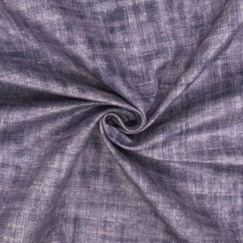 Velours ras bleu lavande aspect lin