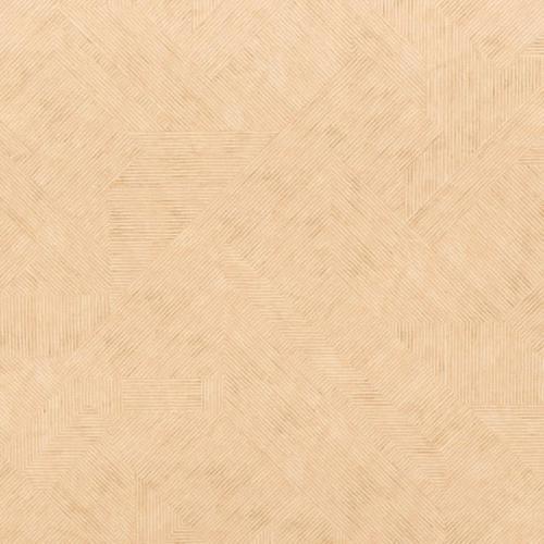 Velours ras rayures géométriques crème et beiges