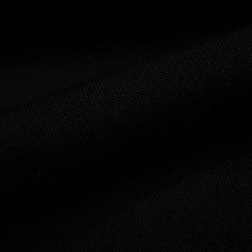 Rouleau 25m burlington infroissable Oeko-tex noir grande largeur