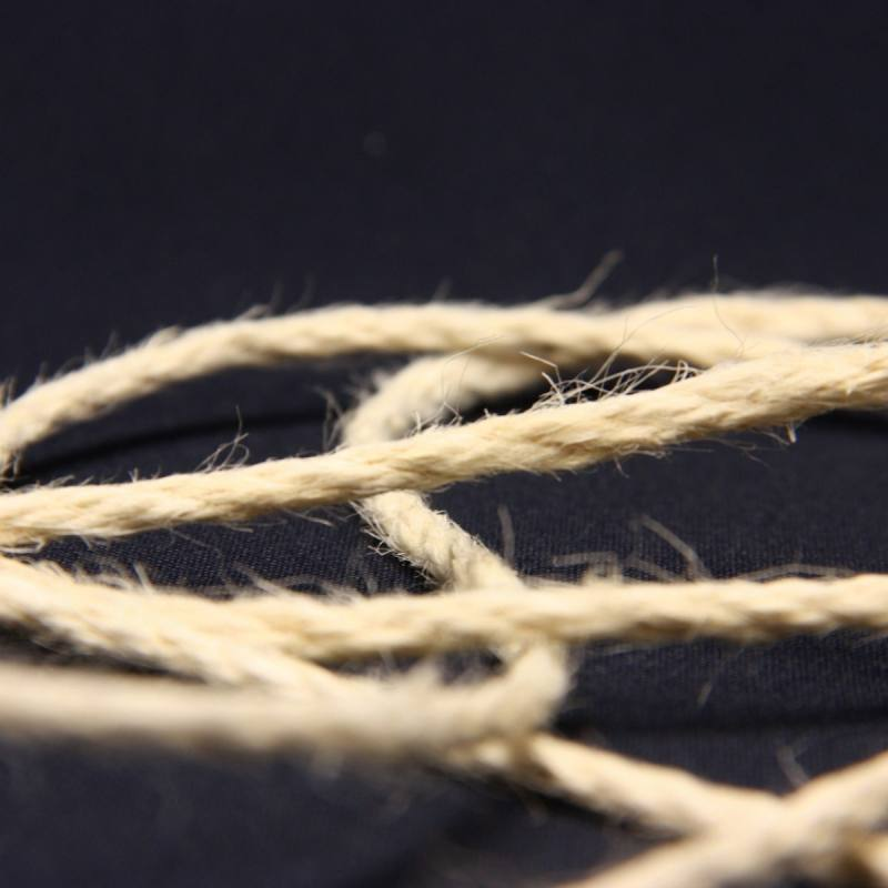 Cordelière jute 3 mm écru