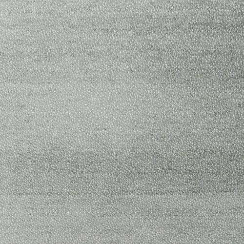 Jacquard réversible moucheté gris clair et blanc nacré