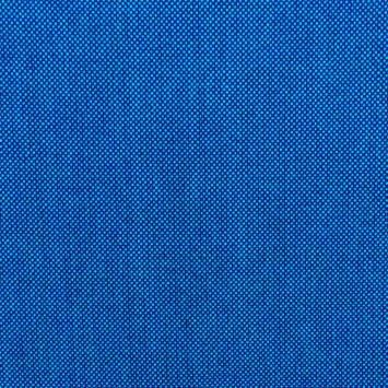 Jacquard tissage bicolore bleu azur et bleu indigo