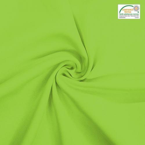 Rouleau 29m burlington infroissable Oeko-tex vert anis