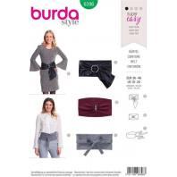 Patron Burda 6396 : Ceinture Taille : 36-46
