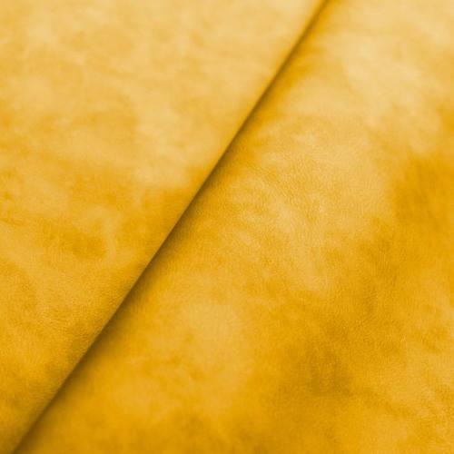 Simili cuir marbré jaune