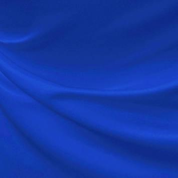 Satin supérieur bleu roi