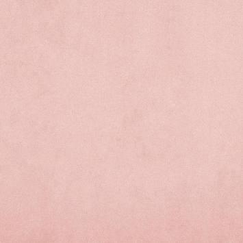 Suédine anti-taches rose poudré