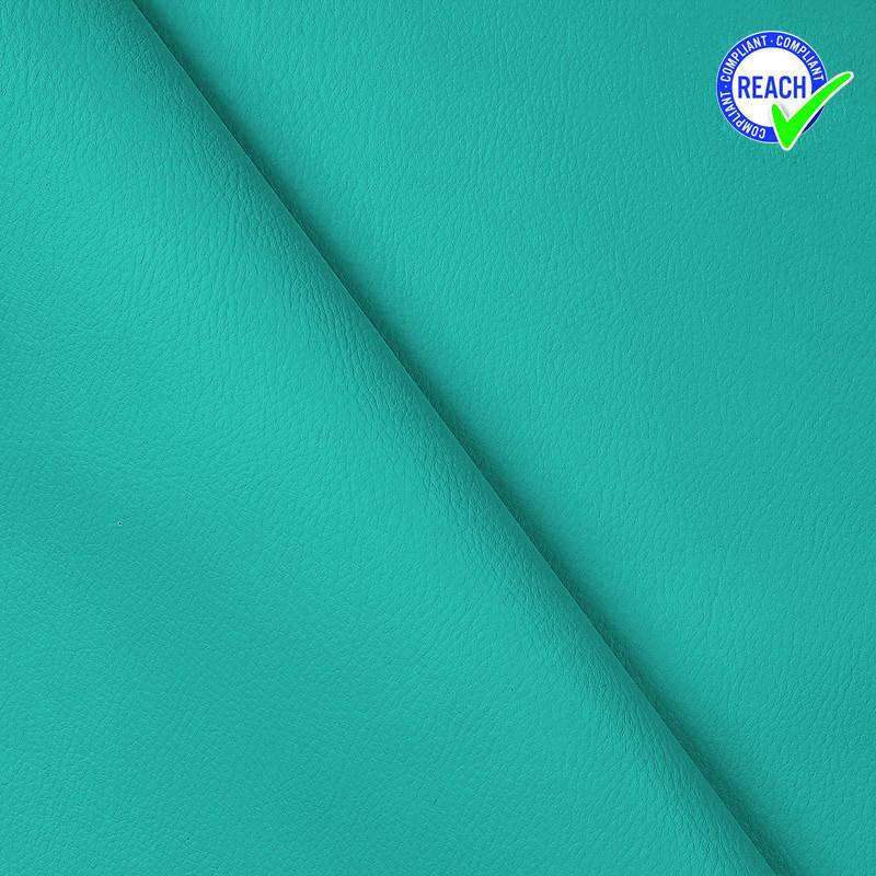 Simili cuir bleu turquoise
