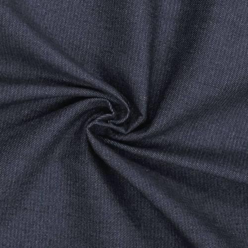 Tissu jean brut bleu foncé