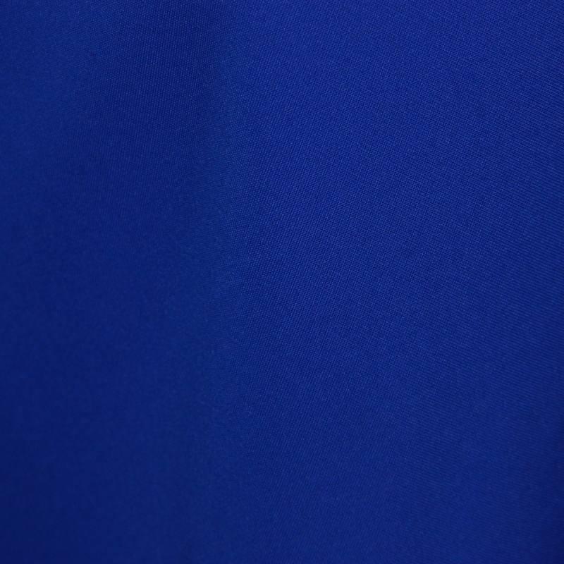 Burlington infroissable bleu roi