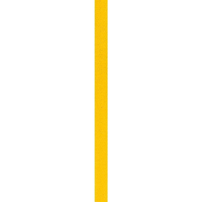 Ruban sergé 11 mm jaune